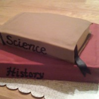 B-Day Cake For A Book Worm