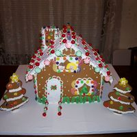 Gingerbread House My daughter and I made this.