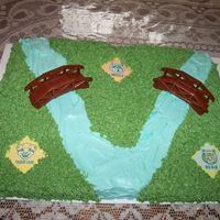 Cub Scout Bridging Cake I made this for our Cub Scouts Bridging Ceremony.