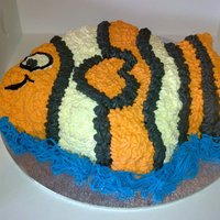 Nemo chocolate mud , Italian merangue butter cream ,made by Tracey