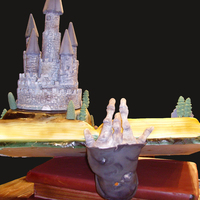 Haunted Castle Cake Theme At The Ncacs 2010 Live Challenge