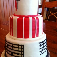 Church Choir Cake