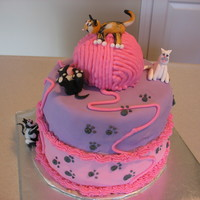 Kitty Cake For Friend's Daughter's Birthday