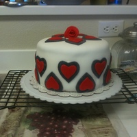 Heart Cake My first attempt at cake decorating is this Valentine Cake made for my sons and husband. I made this cake the weekend of Valentines 2010. I...