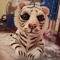 White Tiger i was just messing about with this cake did it in two hours.