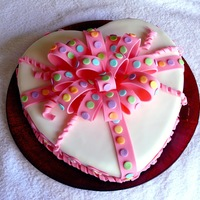 Easy Heart Cake For Valentine's Day Or An I Love You Day This is a very quick and easy cake for Valentine's Day or just an I Love You Day. I have another heart/Valentine's Day cake...