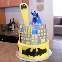 Batman My 4yr old designed this after searching all the cake websites with me...many thanks to everyone who made a batman cake!! My son was very...