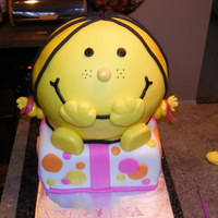 Little Miss Sunshine  Little Miss Sunshine..all cake and fondant. Smiley smash cake for 1 yr old...sorry background is messy..i didn't take another close up...