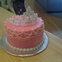 Princess Cake This is a cake for a 3 year old grand daughter of a co-worker of mine. It is a simple yellow cake and buttercream filling, frosted with...
