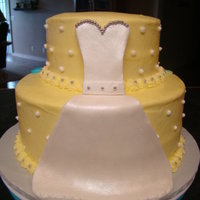 Wedding/baby Shower Cake A business in town was having two of their employees a combined shower. One of course was expecting and the other getting married. They...
