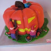 Pumkin Created By Gnomes