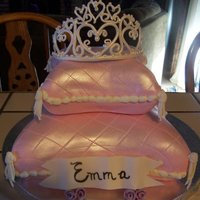 Princess Pillow Cake Made for my granddaughters 4th birthday. Ist time using my pillow pans and was so much fun. Thanks to everyone at CC for the inspiration....