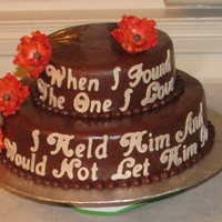 Cake With Scripture