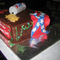 Redneck Christmas Cake This was for my works xmas party 2009