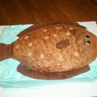 Flounder Cake Father's day cake for a friend