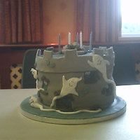 Ghost Castle   this one was done for a friends little boy's party all the kids loved it and i gained another couple of orders from doing it
