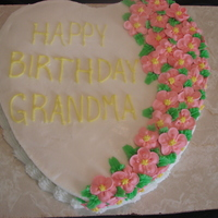 Grandmas Cake Cake I did for my moms birthday.