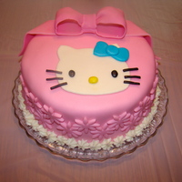 Hello Kitty This cake was close to ending up in the cake disaster album! My first attempt at filling and I know what to do better next time. I walked...