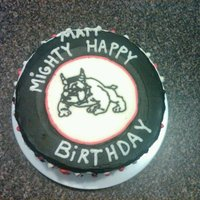 Mighty Mighty Bosstone's Cake The MMBT bulldog is a frozen buttercream transfer. TYFL!