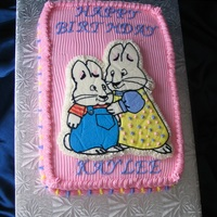 Max & Ruby Cartoon Characters Max and Ruby
