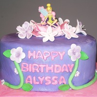 Tinkerbell Tinkerbell birthday cake for one of my wife's co-worker's daughters. Covered in fondant, decorations are gumpaste. Tink is a...