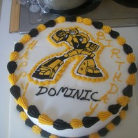 Bumblebee Transformers Cake Transformers Bumblebee cake. Bumblebee is a FBCT.