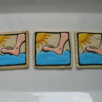 Water Walking A friend requested cookies to share with the folks in her water-walking exercise class, so this is what I came up with. Kind of unusual,...