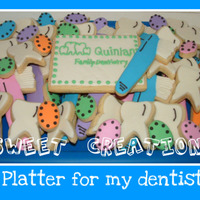 Dentist Cookie Platter