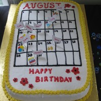 August Birthdays (Calendar)