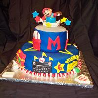 Mario Super Sluggers For my friend's 6 year old. He and his friends loved it. Each section around the bottom tier represents a stadium (w/ exception of...