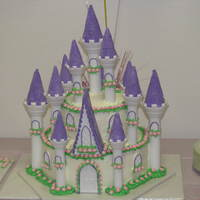 1St Birthday Castle Cake This was a Castle Cake for my daughters 1st Birthday