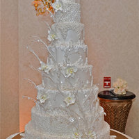 Winter Wedding Cake Winter wedding cake