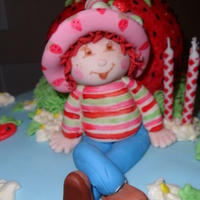 Strawberry Shortcake This was on top of my daughter's 3rd birthday cake. She loves strawberry shortcake. I had a little bit of trouble with the cake but I...