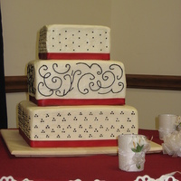 First Wedding Cake!