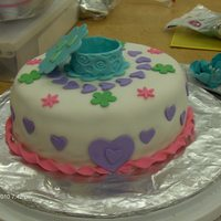 Gum Paste And Fondant Class Cake Fondant, fondant favor box