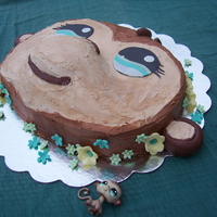 Monkey Cake This is based on the birthday girl's favorite Littlest Pet Shop monkey; she even let me borrow it so I could get it just right. The...