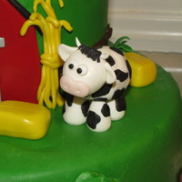 John Deere First Birthday Cake