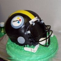 Steelers Helmet Steelers Helmet I did for a friend
