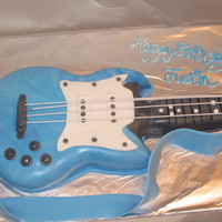 Young Rocker   Birthday cake