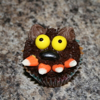 Werewolfie Fun with Halloween cupcakes...the cutest (and most delicious) werewolf ever! :)