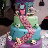 The Littlest Petshop Cake My favorite