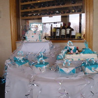 Hagens Cake dress -up party-jewelry box cake and make-up with shoes,make-up-from sugarpaste and buttercream frosting