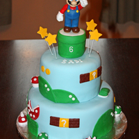 Super Mario   This is a 2-tiered version of the first one I did.