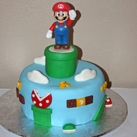 Super Mario   I made this for my hubby who is a big fan of Mario Bros.
