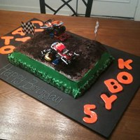 Monster Truck / Monster Jam This is a Monster truck / Monster Jam cake i made for my friend. Her 2 boys had a double birthday party. The cake is chocolate and yellow...