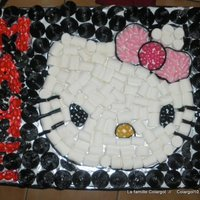 Hello Kitty End Pucca Cake