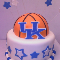 Kentucky Wildcats Basketball Cake
