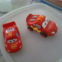 Mcqueen Car   Guess which ones made from fondant.( Lol, I wish I was that good to fool you :-) ...