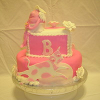 First Baby Shower Cake