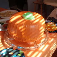 Pumpkin Spice Cake ths was for my daughter's 1st birthday